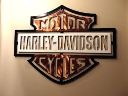 Harley Davidson Metal Wall Decor New Art Design X By For Living