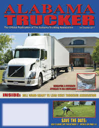 Alabama Trucker, 3rd Quarter 2011 By Alabama Trucking Association ...