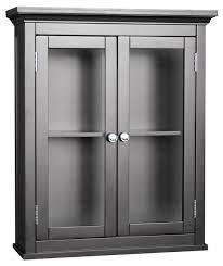espresso finish madison avenue wall cabinet w glass doors