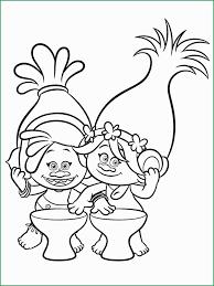 Dibujos Para Colorear De Una Niña Trolls Coloring Sheets And