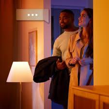 philips dimmbare led badezimmerbeleuchtung 1xgu10 5w 230v ip44 fernbedienung