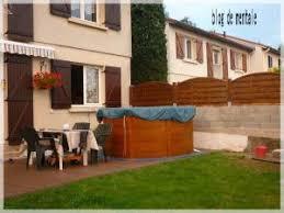 mur de separation exterieur aménagement extérieur mur de séparation avec le voisin 2