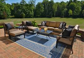 Cast Aluminum Patio Sets by Luxury Outdoor Patio Furniture