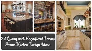 100 Dream Home Ideas 32 Luxury And Magnificent Kitchen Design Rengusukcom
