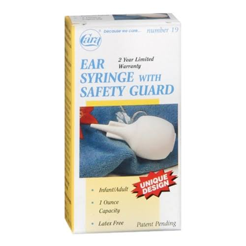 Cara Ear Syringe With Safety Guard - 30ml