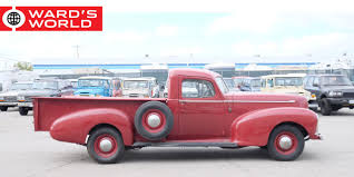 These Eight Obscure Pickup Trucks Are Vintage Design Classics 602 Best Ford 1930s Images On Pinterest Vintage Cars Antique Heartland Trucks Pickups Hap Moore Antiques Auctions 30 Photos Of Bakery And Bread From Between The Citroen Hy Online H Vans For Sale Wanted Whole In Glass Containers Home Vintage Milk Truck Sale Delivery 1936 Divco Delivery Truck Classiccarscom Cc885313 Model A Custom Car Can Solve New York Snow Milk Lost Toronto 1947 Coca Cola Coe Bw Fleece Blanket