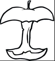 Good Apples Coloring Pages Learn Apple Page Printable App Fruit Sheets For Preschool Full Size