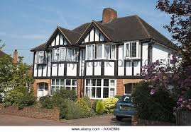 Mock Tudor House Photo by Uk Surrey Semi Detached House In Mock Tudor Style Axxbm6