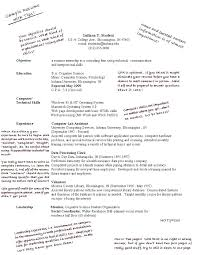 Resume Examples For Technical Jobs With First Job Students In High School