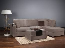 lovesac sofa knock lovesac four cushion chaise sectional and ottoman with taupe