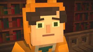 Pumpkin Pie Minecraft Skin by Minecraft Story Mode Interrogating Stampy 27 Youtube