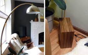 Cb2 Green Arc Lamp by Is This The Lamp For Me Living Analog