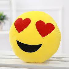 2018 Lovely Emoji Smiley Pillows 12 Styles Cushion Cute Cartoon