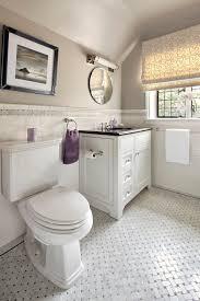 new york white carrara granite bathroom contemporary with tile