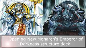 yu gi oh new monarch s emperor of darkness structure deck