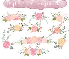 Rustic Clipart Wedding Floral 14