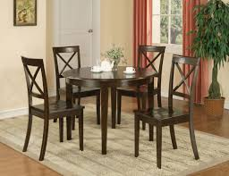 Round Dining Room Sets For 4 Elegant Round Kitchen Table And Chairs ... Hillsdale Fniture Monaco 5piece Matte Espresso Ding Set Glass Round Table And 4 Chairs Modern Wicker Chair 5 Pcs Gia Ebony 1stopbedrooms Room Elegant Nook Traditional Sets Cheap Kitchen Elegant Home Design Round Glass Ding Room Table And Chairs Signforlifeden Within Neoteric Design Inspiration Tables Mhwatson For Small