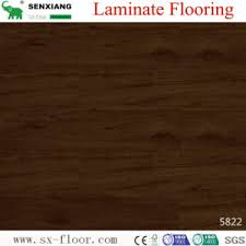 Walnut Wood Texture High Gloss Eco Friendly HDF Laminated Flooring