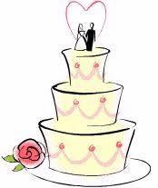 Wedding Cake clipart yellow 9
