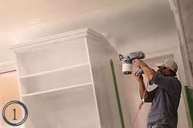 Using A Paint Sprayer For Ceilings by Best Tutorials For Painting Cabinets With A Sprayer
