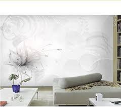 rureng elegante schöne 3d fantasie blumen tapete wohnzimmer