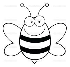 Busy Bees Coloring Pages Bumble Bee Page Cute Download Print Free Picture Attitudes Maya The Movie