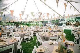 Backyard Wedding Seating Ideas