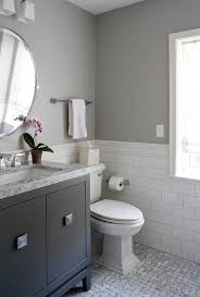 Grey Colored Bathrooms for Best Small Bathroom Colors