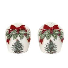 Spode Christmas Tree Bauble Cookie Jar by Christmas Trees Salt And Pepper Shakers Christmas Wikii