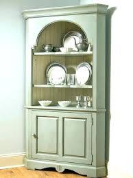White Corner Cabinet Dining Room Hutch Home Improvement