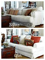 Ikea Kramfors Sofa Slipcover by Golden Boys And Me Comfort Works Custom Slipcover Review
