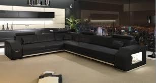 canapé d angle cuir design canapé d angle en cuir florys 2 089 00