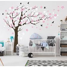 sticker chambre bébé fille stickers chambre bebe arbre comparer 99 offres