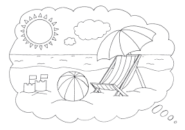 Sheets Beach Coloring Page 71 For Site With