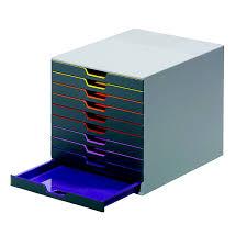 Durable fice Products 7610 10 Drawer Desktop Organizer