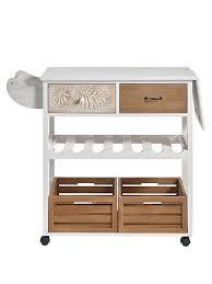 küchenwagen weiß heine home
