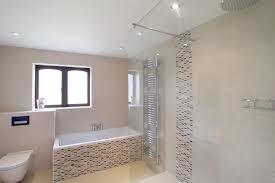 Modern White Bathroom Tile