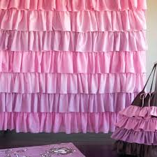 Pink Ruffle Curtains Target by Target Pink Ruffle Shower Curtain Curtain Ideas