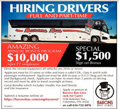 Drivers, Barons Bus Lines Truck Driving Jobs In Nashville Tn Cdl Class A Driver Local Reimer Bros Trucking Ltd Armstrong Bc Drivers Wanted Trucking Jobs Drivejbhuntcom Company And Ipdent Contractor Job Search At Louisville Ky Best Image Kusaboshicom Area Resource How Went From A Great To Terrible One Money History Leasing Atlanta 3pl Transportation Staffing Gulfport Ms Gulf Intermodal Services Full Time Part Cheshire Ct Lily Drivers Barons Bus Lines Can Be Lucrative For People With Degrees Or Students Opportunities In Mumbai