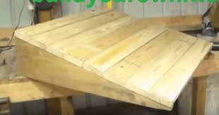How To Build A Wooden Shed Ramp by How To Build A Shed Ramp Simple Step By Step Tutorial