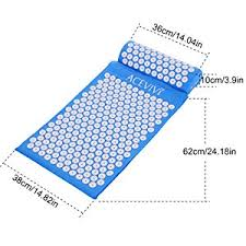 Bed Of Nails Acupressure Mat by Amazon Com Acevivi Acupressure Mat And Pillow Set Bed Of Nails
