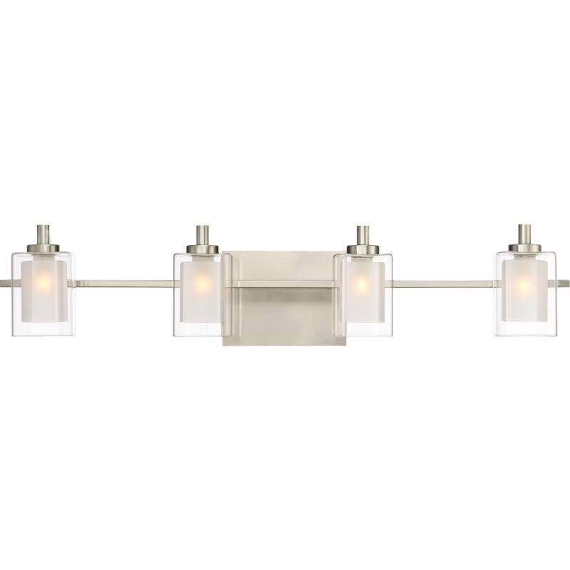 Quoizel Kolt 4 Light LED Vanity Light in Brushed Nickel - KLT8604BNLED