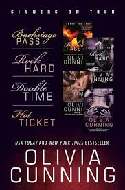 Olivia Cunning Bundle Backstage Pass Rock Hard Double Time Hot Ticket By