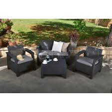 Keter Lounge Chairs Grey by Outlet Keter Corfu Coffee Table New All Weather Outdoor Patio