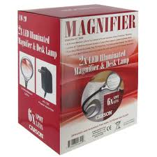 Lighted Magnifying Hobby Lamp by Deskbrite 200 Magnifier Lamp Hobby Lobby 810200