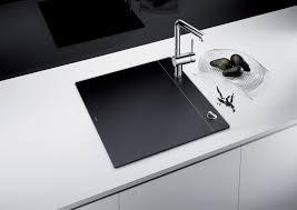 Blanco Sink Strainer Waste by The Award Winning Blanco Crystalline In Black Sink Vanishes When