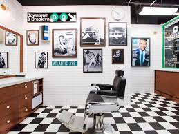 gq and fellow barber barbershop brooklyn new york storedesign