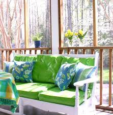 screened in porch decorating ideas bright bold beautiful