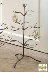 Metal Ornament Tree Display Stand Uk Brown Natural 100 Trees 1