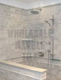 cararra marble tile bathrooms and showers white carrara marble